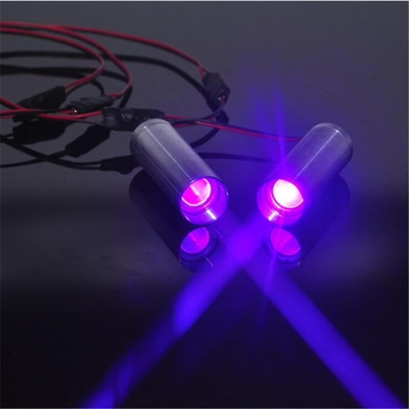 250mw 405nm Violet Laser Module   3.6v-5v DC For Room Escape/ Maze Props/ Bar Dance Lamp