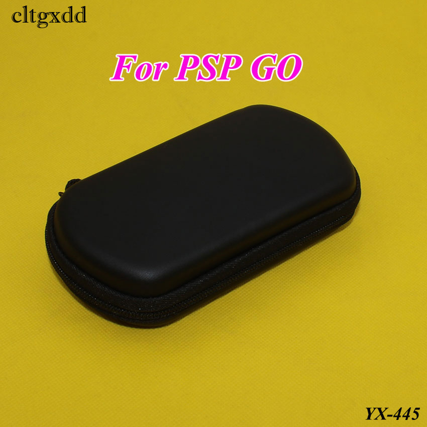 Cltgxdd Black Hard Cover Bag Pouch Travel Carry Shell Case For PSP GO Protector Cover Box