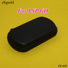cltgxdd Black Hard Cover Bag Pouch Travel Carry Shell Case for PSP GO Protector Box