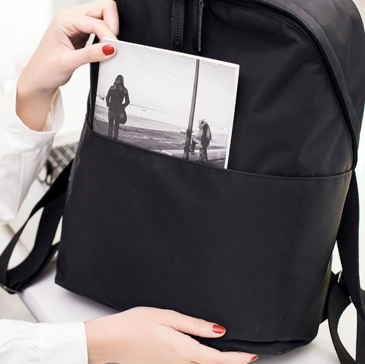 Casual Oxford Backpack Women Black Waterproof Nylon School Bags Teenage Girls High Quality Travel Tote Backpack W-33-70 #2