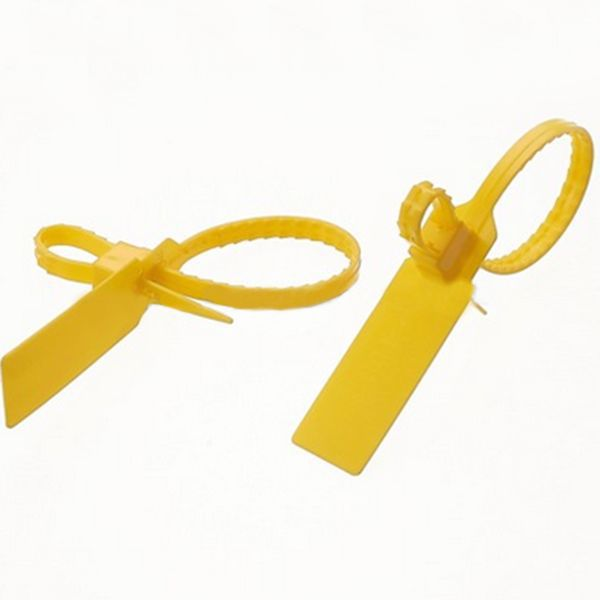 10PCS double-breasted seal Plastic Cable Ties 350mm tightening wire seals Logistics seals security container seals