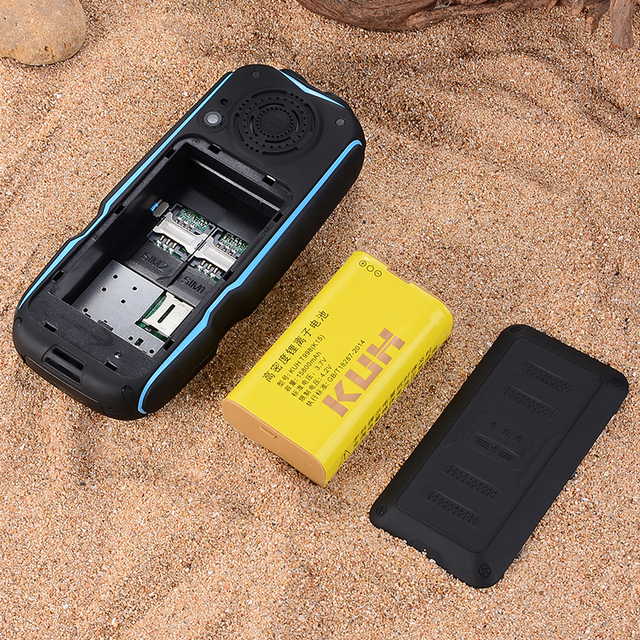 Rugged outdoor mobile gsm phone telephone p035