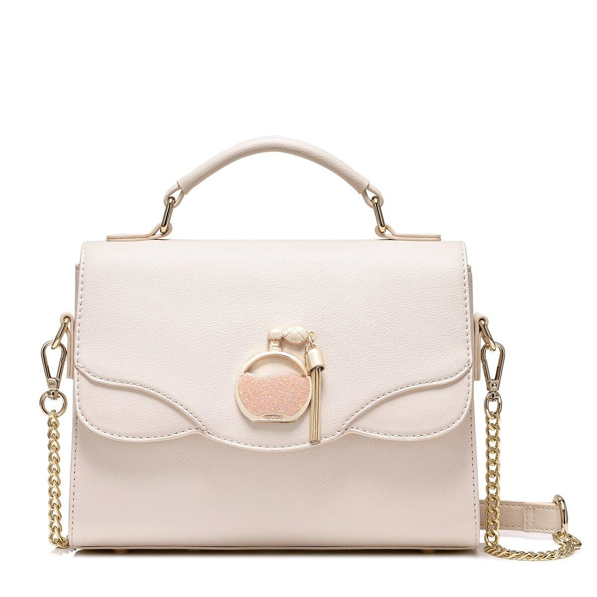 2017 Elegant Sequined Perfume Bottle Women Flap Handbag Brand Design Luxury Tassels Shoulder Bags Ladies Crossbody Messenger Bag-in Shoulder Bags from Luggage & Bags    2