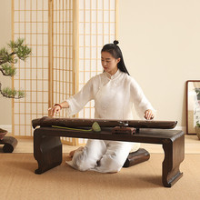 Chinese Antique Piano Wood Table Rectangle 110*40cm Asian Furniture Living Room Oriental Traditional Wooden Floor Tea Table