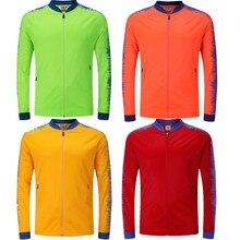 Для мужчин куртка для бега Фитнес Спорт на открытом воздухе восхождение Футбол Баскетбол Теннис Тренажерный зал Куртки с длинными рукавами 6809