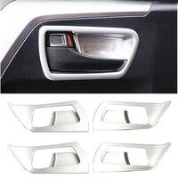 Interior For Toyota RAV4 Rav 4 2013 2014 2015 2016 2017 ABS Accessories Inner Side Door