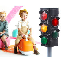 Educational Traffic Equipment Light Tool Children Safety Crossing Road Toys Traffic Signal Toy Early Childhood Educational Toys traffic lights toy 24cm road signs children model scene simulation teaching child traffic light signal lamp toy live voice