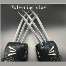 New 1:1 Scale One Pair Wolverine Claws Soft Plastic + ABS Materials In Boxed For Children