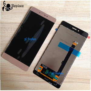 Image 4 - 100% tested  High Quality for Highscreen Power Ice Max LCD Display Touch screen digitizer panel sensor Assembly frame  5.3""