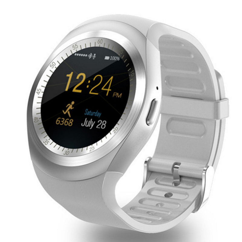 Digitale Uhren Gewissenhaft Bluetooth Y1 Smart Uhr Unterstützung Nano Sim & Amptf Karte Mit Whatsapp Und Facebook Männer Frauen Business Smartwatch Für Android Phon