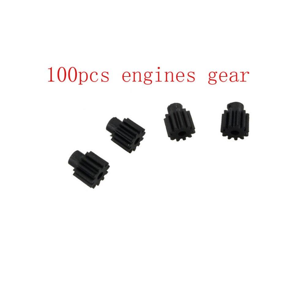 Visuo xs809 xs809hw xs809w xs809s rc quadcopter 드론 예비 부품에 대 한 100 pcs 엔진 기어 및 100 pcs 엔진 모터-에서부품 & 액세서리부터 완구 & 취미 의  그룹 3