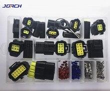 226 Pcs 1,8mm AMP Tyco Wasserdichte stecker Elektrische Draht Stecker Sets Kits mit Crimp Terminal und gummi dichtungen
