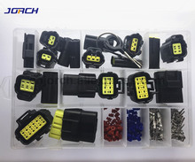 226 Pcs 1.8mm AMP Tyco Waterproof plug Electrical Wire Connector Sets Kits with Crimp Terminal and rubber seals
