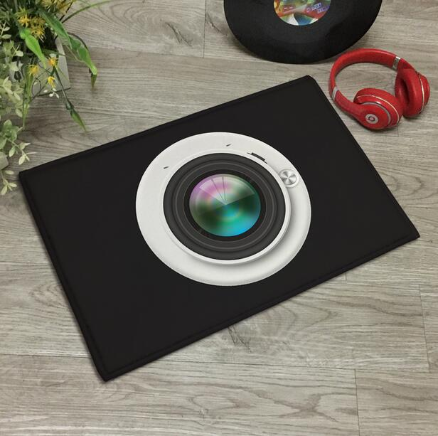 Nordic 3D Camera Doormat Area Rugs Floor Carpet Non-slip Floor Door Mats for Living Room Kitchen Floor Stairs Area Hallway