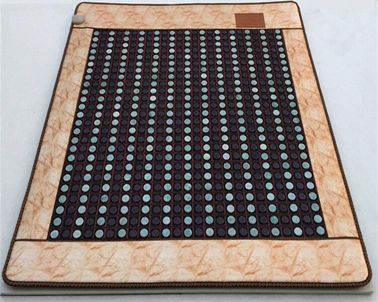 Jade Tourmaline matelas bambou fibre de carbone personnalisé Jade matelas Jade coussin électrique chauffé 1.0X1.9 M