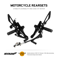 Rearset Footrest Motorcycle Footpegs Rear Sets Foot Rest Pegs For HONDA CB1000R 2008 2009 2010 2011 2012 2013 2014 2015 2016