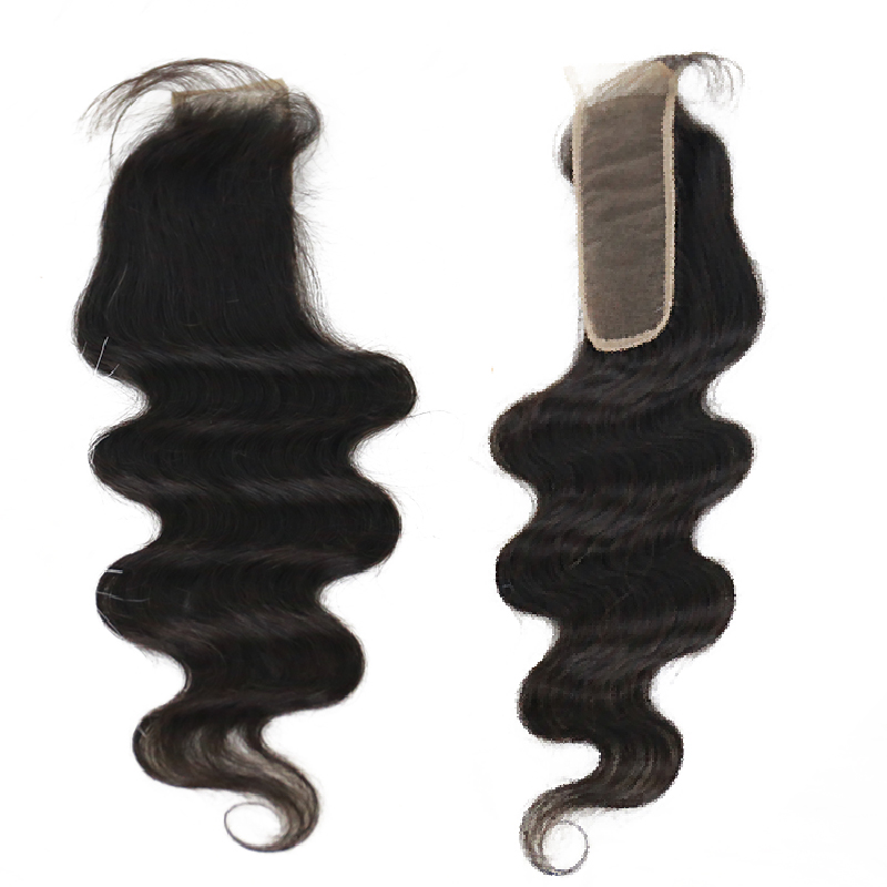 2x6 Brazilian Body Wave Lace Closure 1 Pcs Natural Color 10 22 Inch 100% Human Hair Extensions Free Shipping Ever Beauty Remy-in Closures from Hair Extensions & Wigs    3