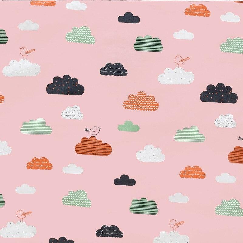 Детский водонепроницаемый матрас, мультяшная простыня, пеленка для ребенка, пеленальный коврик, хлопок, экологическая Пеленка, пеленка, пеленка для младенцев - Color: Red
