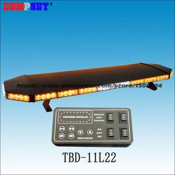 Tbd-11l22 супер яркий 1.2 м Amber светодиодный световой, инженерные/аварийной ситуации DC12V/24 В автомобиля крыши Strobe Предупреждение световой, черный ...