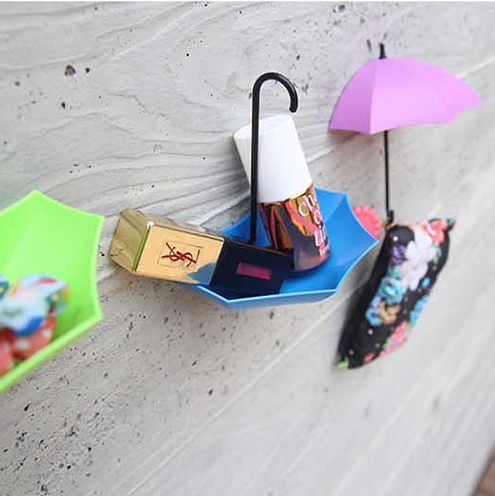 Simple life 3 piece lot Organizer wall hanger multicolor hooks for bathroom bathrobe coat hooks home decor bathroom accessories in Bathroom Hooks from Home Garden