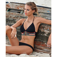 Bikini Brazilian 2016 Swimwear Sexy Lace Bikinis Set Women Plus Size Bathing Suits Beachwear Tankini Set