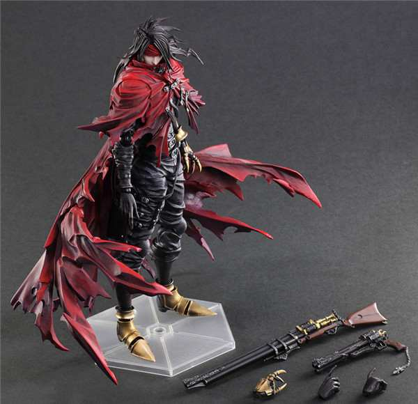Play Arts Kai Vincent Valentine Final Fantasy Figure Final Fantasy VII FF7Cloud PA 27cm PVC Action Figure Doll Toys Kids GiftPlay Arts Kai Vincent Valentine Final Fantasy Figure Final Fantasy VII FF7Cloud PA 27cm PVC Action Figure Doll Toys Kids Gift