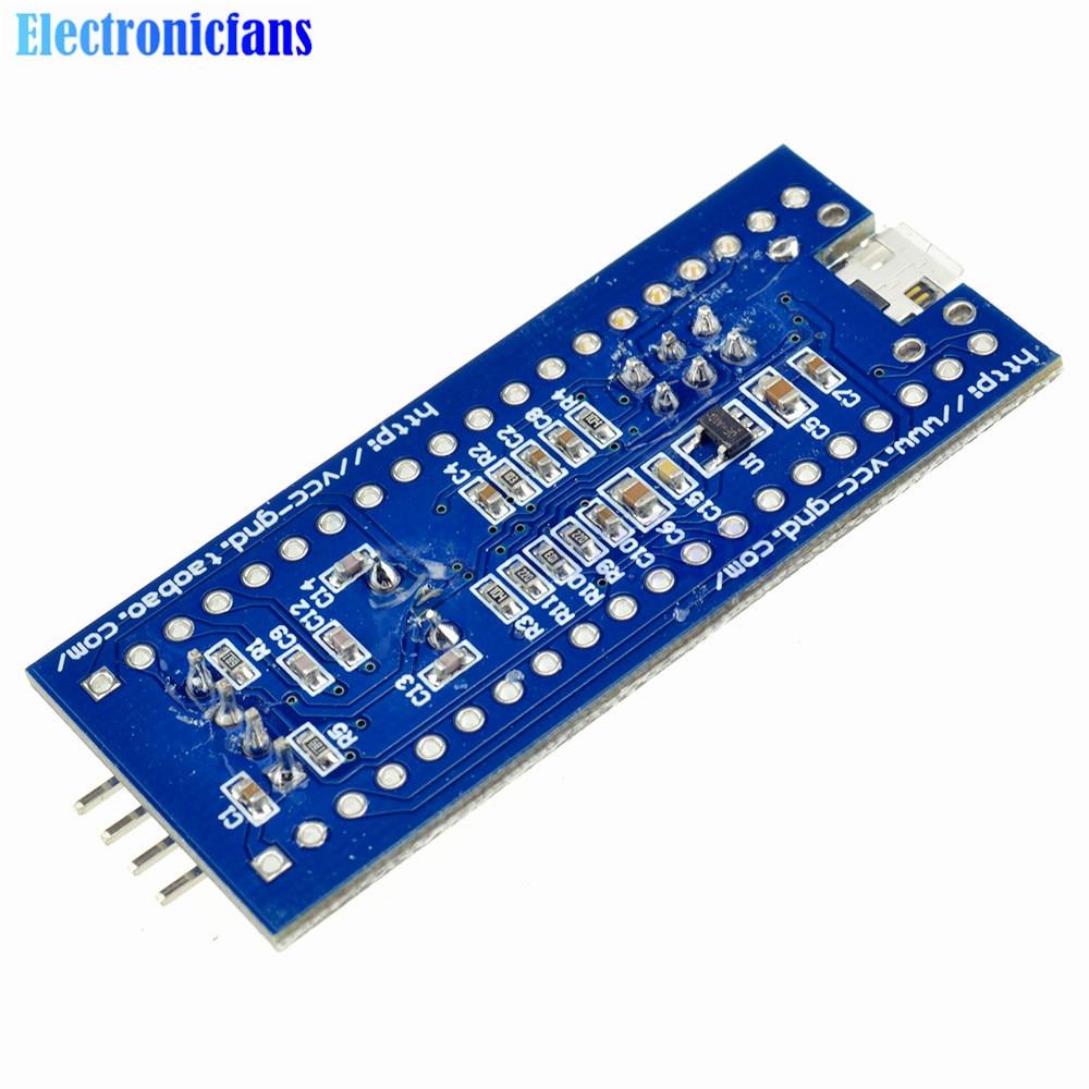 Free Shipping STM32F103C8T6 ARM STM32 Cortex-M3 Minimum System Development Board Module With Crystal For Arduino 72MHz Mini USB