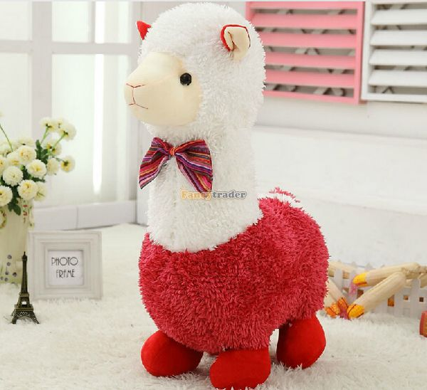 Fancytrader 24'' / 60cm Super Soft Giant Stuffed Lovely Plush Alpaca Toy, 3 Colors Available, Free Shipping FT50441 2pcs 12 30cm plush toy stuffed toy super quality soar goofy