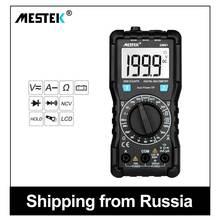MESTEK Digital Multimeter True-RMS 1999 Counts AC/DC Ammeter Voltmeter
