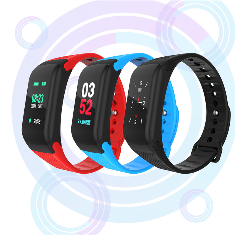 2018 NEW Sports smart bracelet blood pressure heart rate monitor F1S color smart watch fitness tracker smart bracelet pedometer2018 NEW Sports smart bracelet blood pressure heart rate monitor F1S color smart watch fitness tracker smart bracelet pedometer