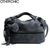 OTHERCHIC Hot Sale Suede Leather Tassel Bags Women Brand Designer Handbags Quality Tote Women Shoulder Messenger
