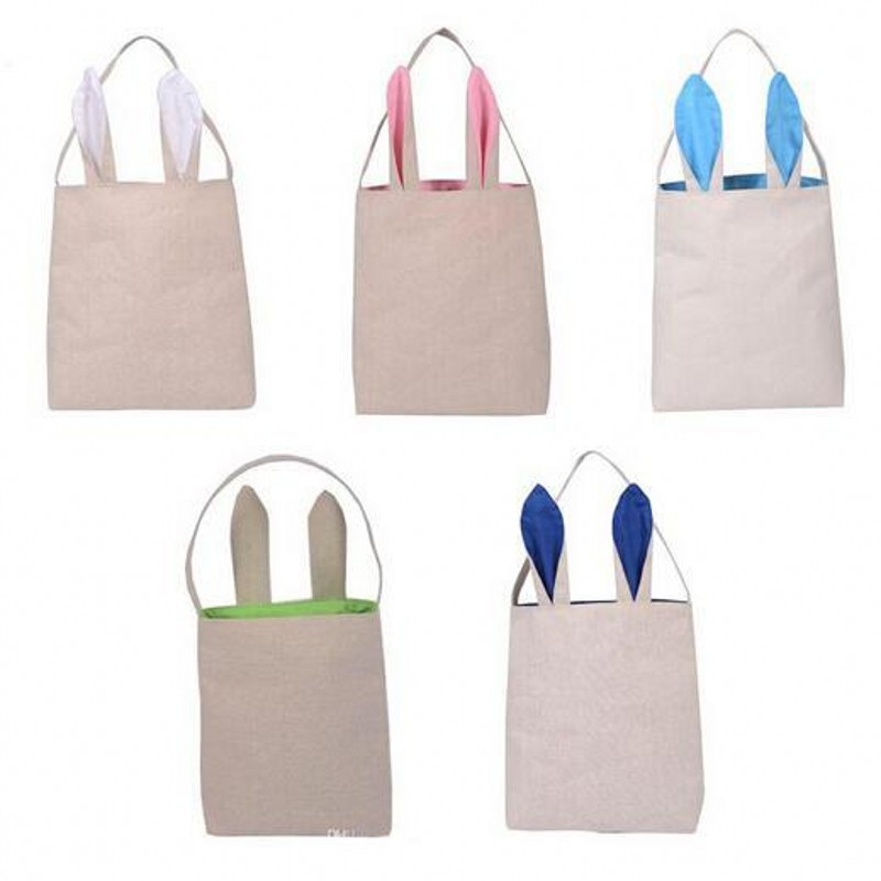 Cute easter gift bags classic rabbit ears cotton and linen bag cute easter gift bags classic rabbit ears cotton and linen bag package put easter eggs for kids holiday party decoration on aliexpress alibaba group negle Image collections