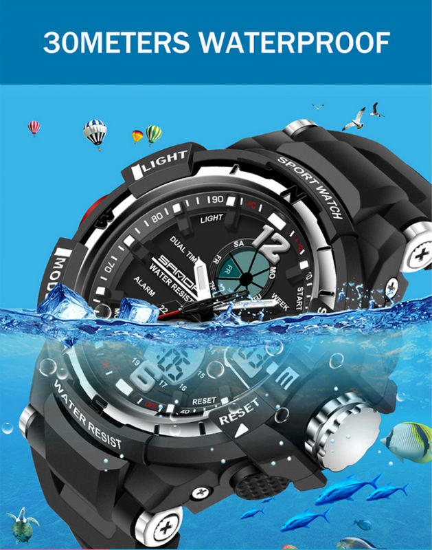 brand sanda led digital wristwatches for student (6)