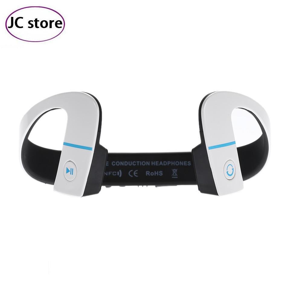 2016 New Bone Conduction Headphones LF-18 Wireless Headset Bluetooth Sports  Earphone with Mic Call NFC Function bluethooth 4.1