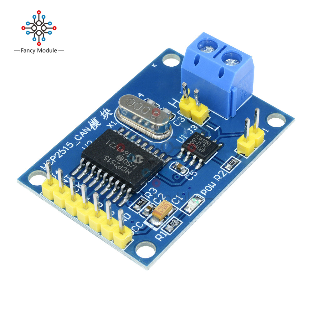 US $1 44 17% OFF|MCP2515 CAN Bus Module Board TJA1050 Receiver SPI For 51  MCU ARM Controller for Arduino-in Instrument Parts & Accessories from Tools