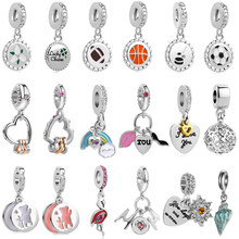 0e07b3913f Popular Sports Pandora Charms-Buy Cheap Sports Pandora Charms lots ...