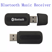 Mini usb wireless bluetooth music receiver 3.5mm audio adapter for iphone samsung car aux mp3 home stereo phone speaker receptor