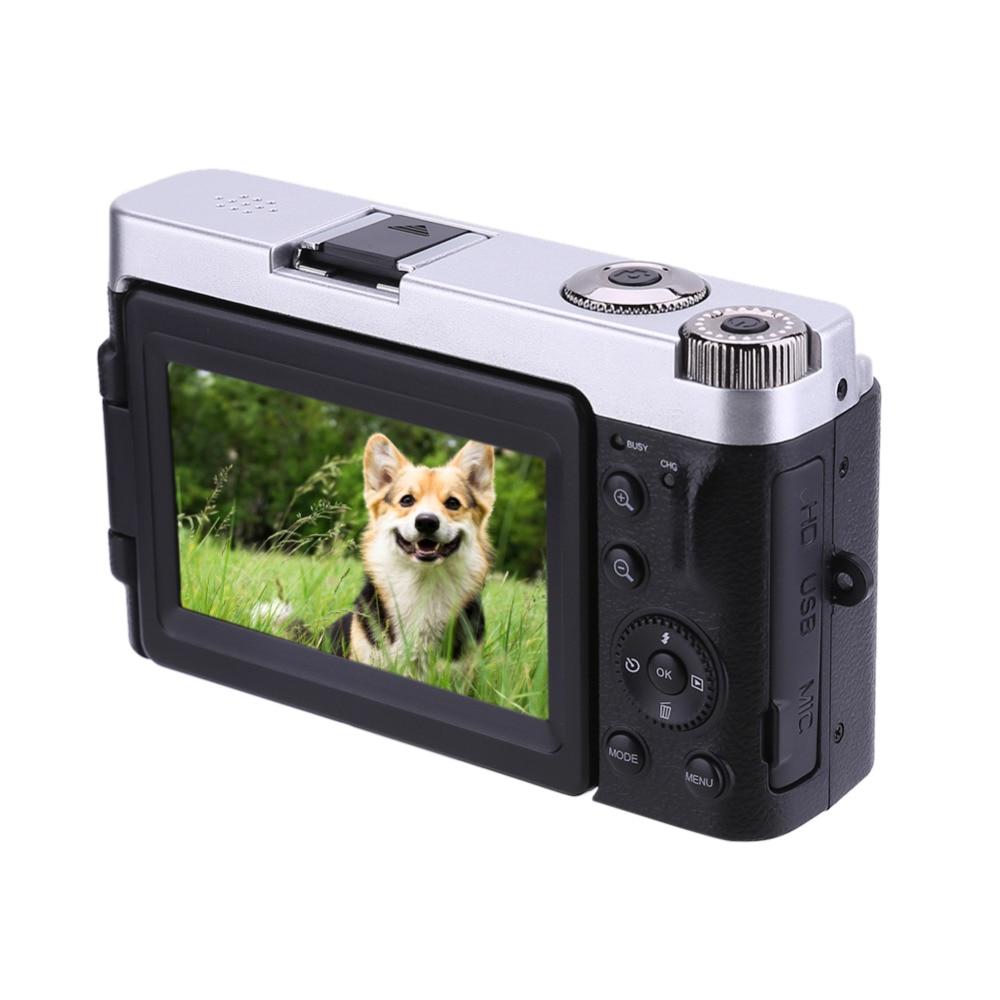 ALLOET P12 caméra à écran rabattable sans fil WIFI FullHD 1080 P 24MP 16X Zoom caméra numérique enregistreur vidéo pour l'extérieur belle Photo