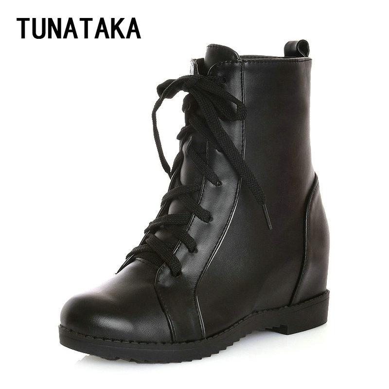 Online Get Cheap Faux Leather Combat Boots -Aliexpress.com ...