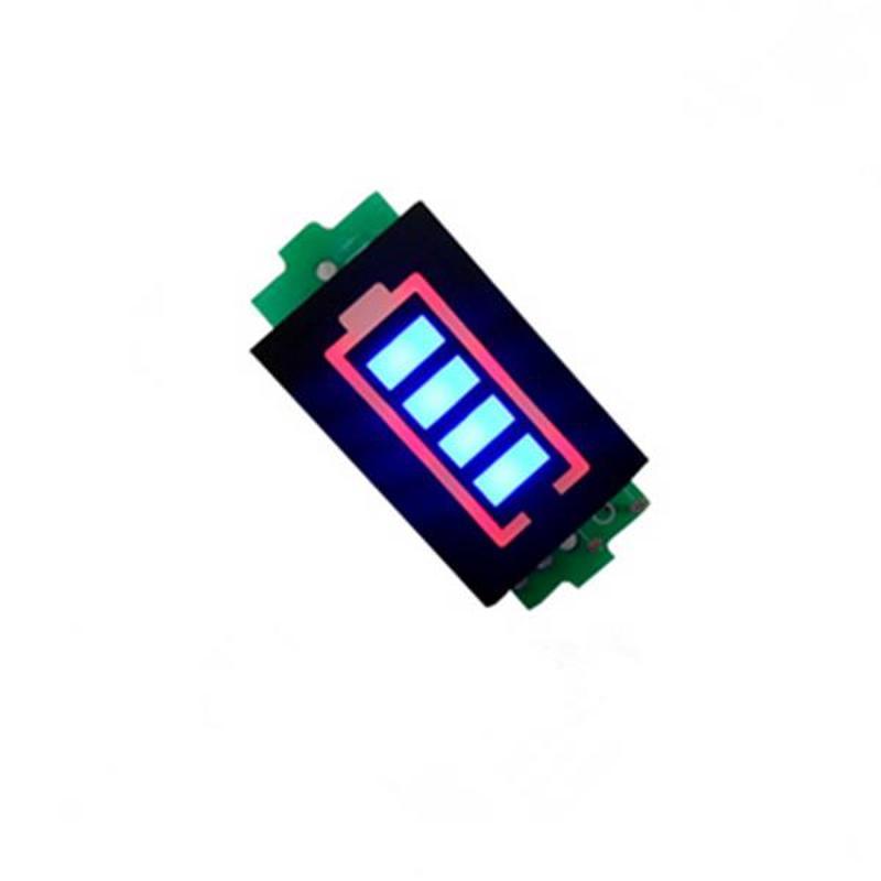 4 шт., индикатор уровня заряда 3,7 В 7,4 В 11,1 В 14,8 в, дисплей, вольтметр, литий-ионный аккумулятор LiPo, проверка емкости для радиоуправляемого FPV др...