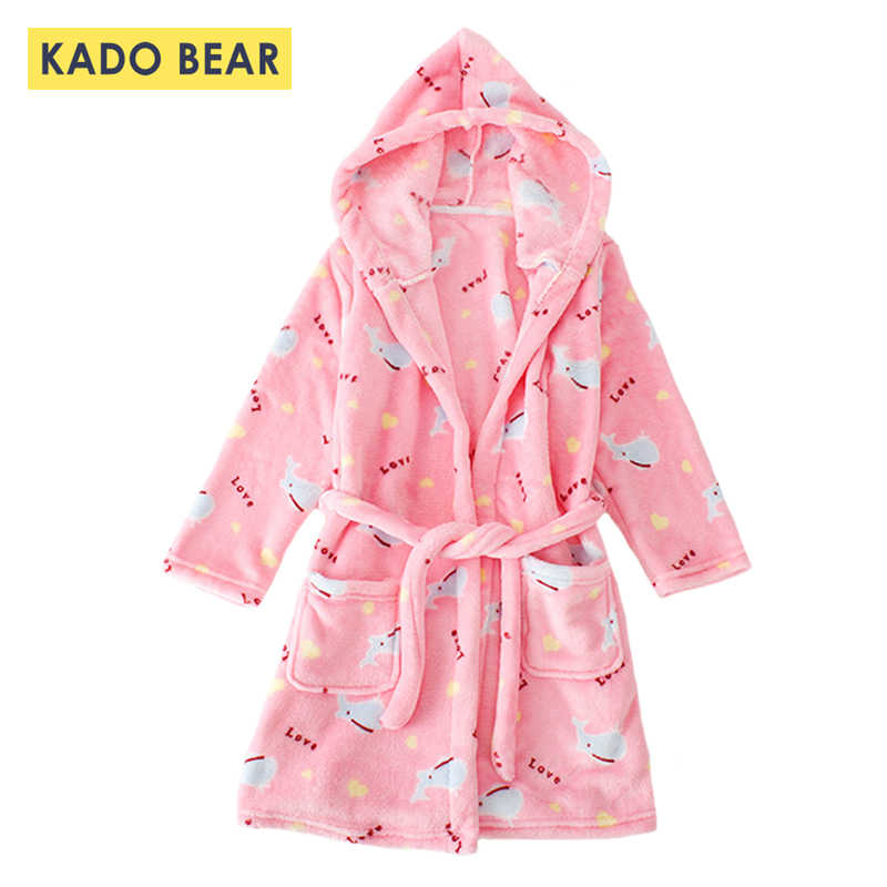 ccb97c624 Detail Feedback Questions about Children Flannel Bathrobe Kids Girl ...