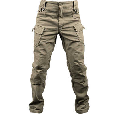 100% Cotton Elastic Fabric IX7 City Military Tactical Cargo Pants Men SWAT Combat Army Trousers Male Casual Many Pockets Pants