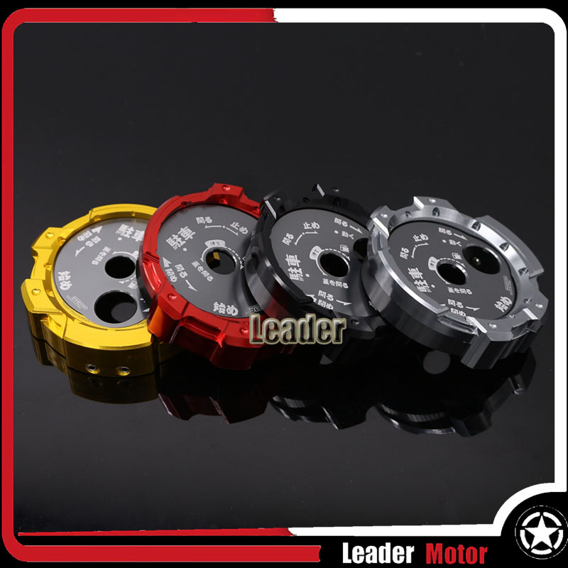 For YAMAHA BWS R BWSR Scooter Motorcycle Accessories CNC Aluminum SEAT LOCK COVER CAP Four Colors cnc bws