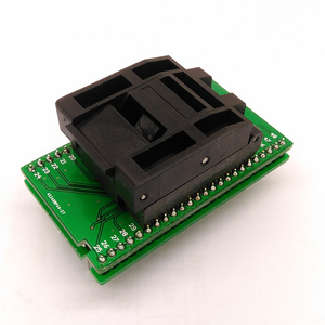 Image 3 - QFP48 TQFP48 LQFP48 to DIP48 MCU Programmer Pitch 0.5mm IC Body Size 7x7mm IC51 0484 806 Test Socket Adapter