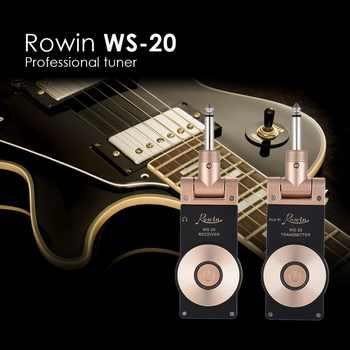 WS-20 2.4G Wireless Guitar Transmitter System Rechargeable Electric Guitar Transmitter Receiver Set 30 Meters Transmission Range