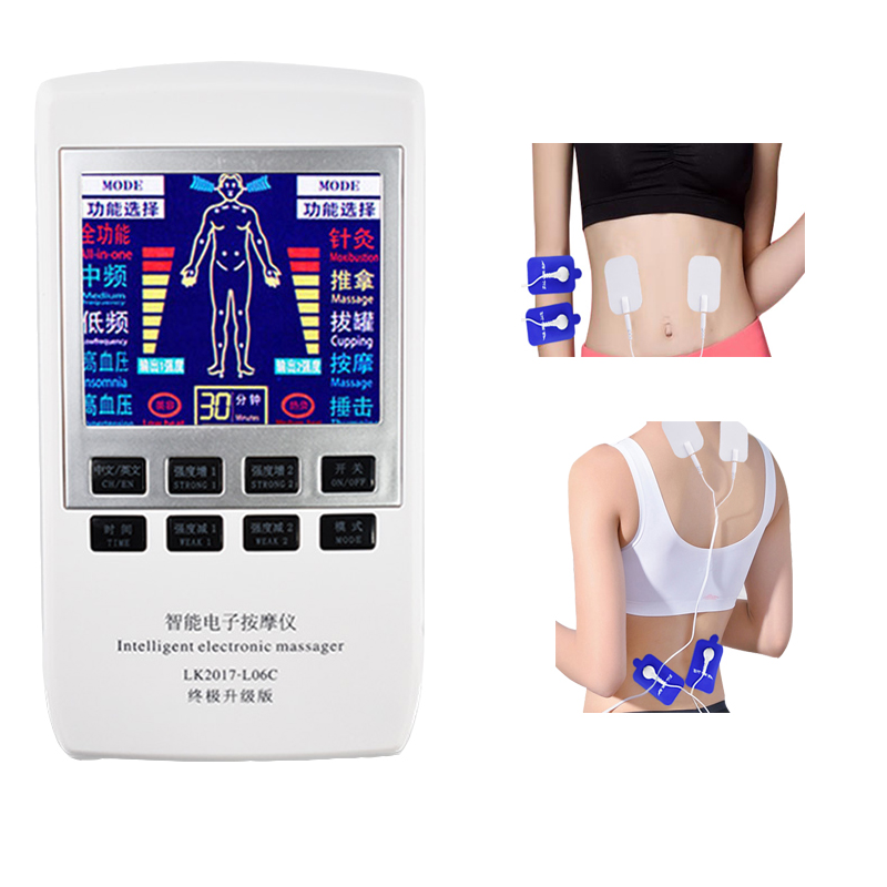 Professional Intelligent Electronic Massager Improve Pain Meridian Physiotherapy Health Care Electronic Vibration Pulse Apparatu цена