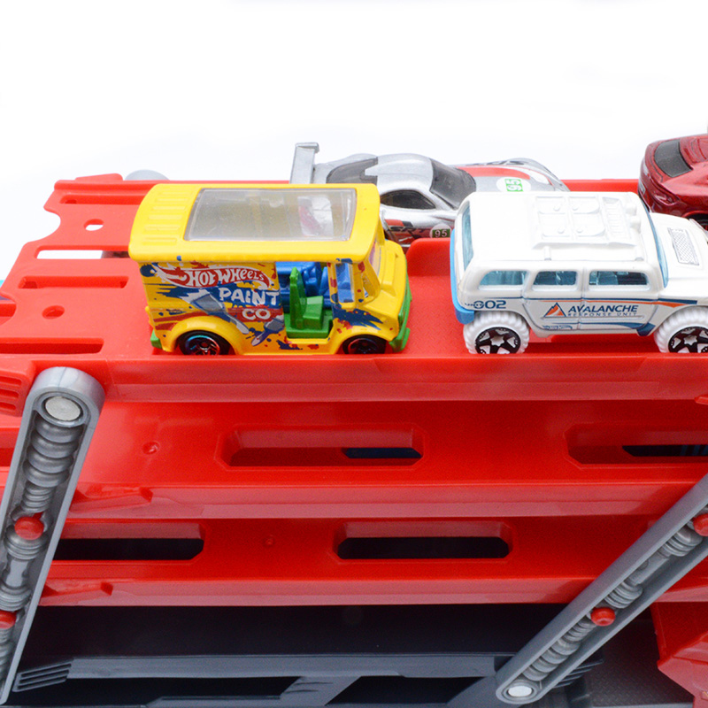 Hot-Wheels-Heavy-Transport-Vehicles-CKC09-Hotwheels-6-Layer-Small-Car-Toy-Scalable-Storage-Transporter-Truck-Boy-Educational-Toy-3