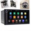 """2 Din Android 5.1.1 Леденец 7 """"универсальный (178*100 мм) автомобиль Радио Quad Core Головное устройство 1024*600 HD Автомобильный GPS Навигации + Камера Заднего Вида"""
