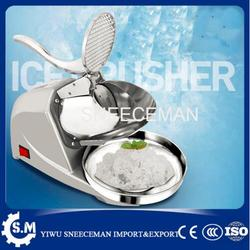 85kg/h commercial stainless steel electric bar ice crusher automatic ice shaver making machine