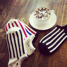 Socks men spring and autumn summer A345 boat socks men personality color matching solid quality